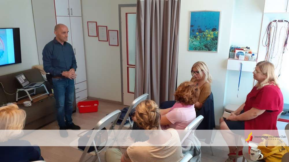 Holistic approach section - Acupuncture workshop