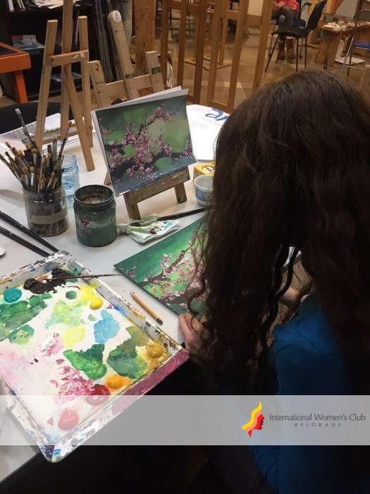 Art & Painting - Flower Art